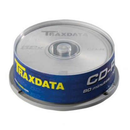 Slika od CD-R, TRAXDATA, 80 MIN, 52X, brand cake 25 kom