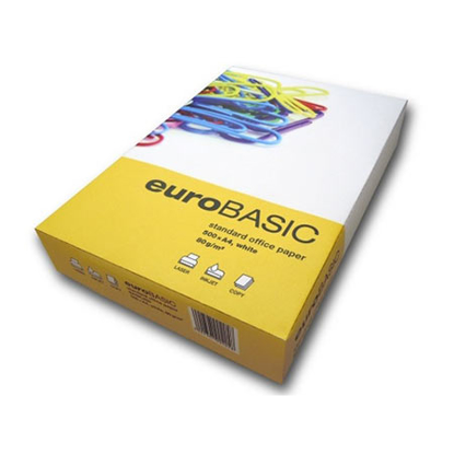 Slika od PAPIR EUROBASIC A4, WHITE, 80 gr 1/500