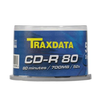 Slika od CD-R TRAXDATA, 700 MB, 52X, CAKE 50 kom