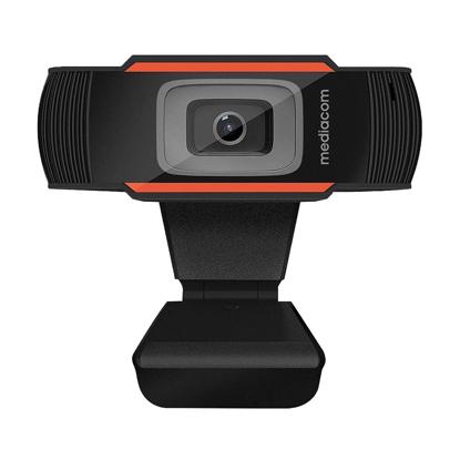 Slika od Web cam MEDIACOM M-WEA350, HD 720p, mikrofon, Apple MacOS, Microsoft Windows