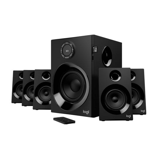 Picture of Zvučnici 5.1 LOGITECH Z607 5.1 Surround Sound with Bluetooth - BLACK 980-001316