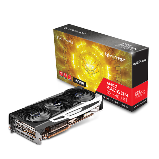 Picture of SAPPHIRE NITRO+ AMD RADEON RX 6900 XT GAMING OC 16GB GDDR6 HDMI / TRIPLE DP LITE 11308-01-20G