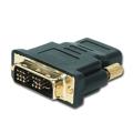 Picture of HDMI adapter A-HDMI-DVI-2, HDMItoDVI F-M gold conn., BULK, GEMBIRD