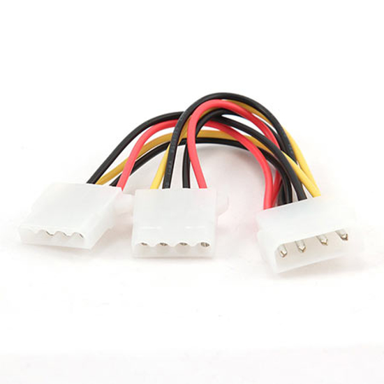 Picture of Kabl napojni interni Y molex, GEMBIRD CC-PSU-1 molex 4pin 1x female to 2x male