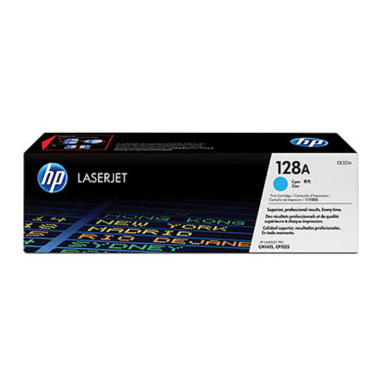 Picture of Toner HP CE321A 128A CYAN, za HP CP1525