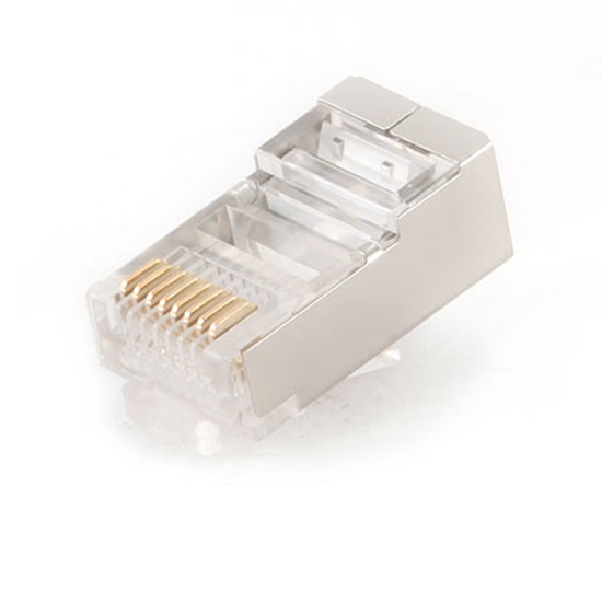 Picture of FTP/SFTP konektor MP-8P8C, modular shielded, GEMBIRD PLUG5SP