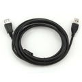 Picture of USB 2.0 kabal GEMBIRD CCF-USB2-AMAF-10, 3m, A-A ext cable, premium, ferrit