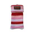 Picture of Čarapica za mobilni telefon SBOX MCF-S16 crveno-roza-bijela 65x100mm