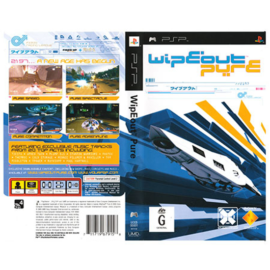 Picture of Sony igra PSP Wipeout Pure