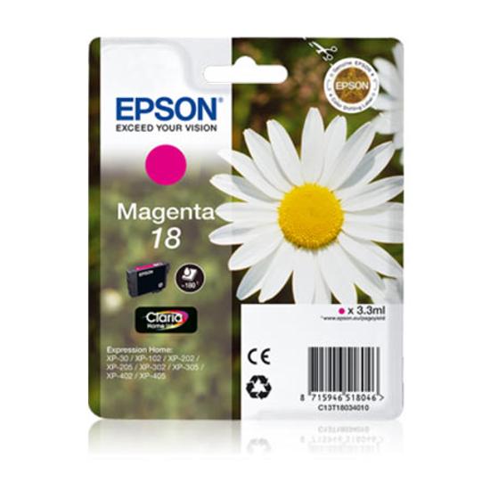 Picture of Tinta Epson T1803 MAGENTA,C13T18034010