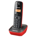 Picture of KX-TG1611FXR Panasonic telefon crno/crveni DECT CID