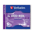 Picture of DVD+R DL, VERBATIM,8,5 GB,8X,MATT SILVER JC