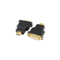 Picture of HDMI adapter A-HDMI-DVI-3, HDMItoDVI M-F gold conn., BULK, GEMBIRD