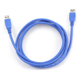 Picture of USB 3.0 kabal, 3m, A-A BLACK ext cable, GEMBIRD CCP-USB3-AMAF-10
