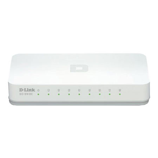 Picture of SWITCH 8 portni 10/100 D-LINK, GO-SW-8E