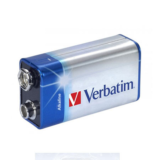Picture of Baterija VERBATIM ALKALNA 9V 049924