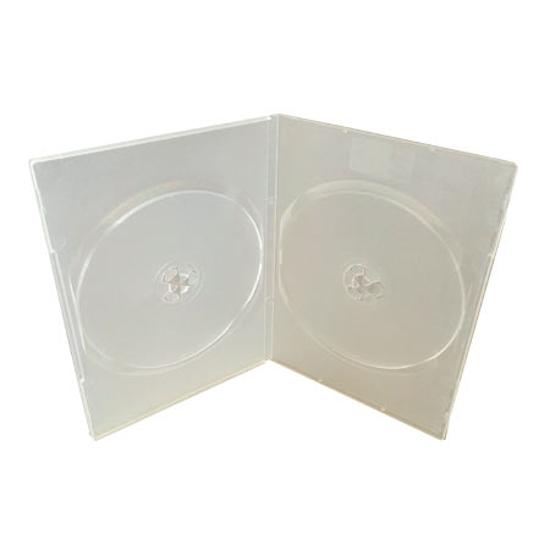 Picture of Omot za 2 DVD, PROZIRNI 7mm, DVD-2PS