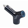 Picture of DC USB punjač u autu za MP3 player, 2A, BLACK, GEMBIRD MP3A-UC-CAR5