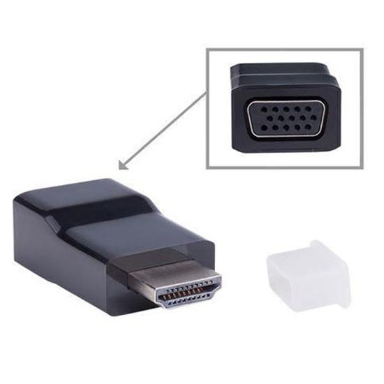 Picture of HDMI adapter GEMBIRD A-HDMI-VGA-001 HDMI to VGA adapter