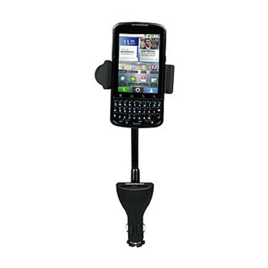 Picture of Dupli držač za mobitel/smartphone MEDIACOM M-SH200 + auto punjač sa dva USB-a