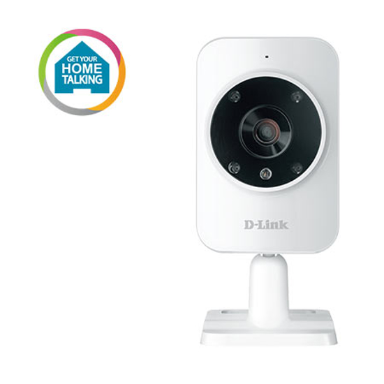 Picture of D-LINK IP-CAM Wi-Fi DCS-935L/E IP camera, mydlink Home, zoom 4x, det.pokreta, mail alarm