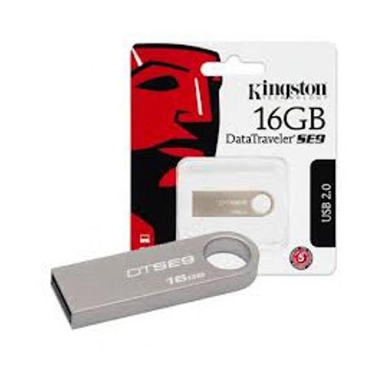 Picture of USB Memory stick Kingston 16GB, USB2.0, DTSE9H/16GB
