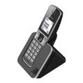 "Picture of KX-TGD310FXB Panasonic telefon crni, zakrivljena slušalica, 1.8"" display, CID"