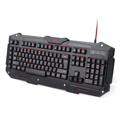 Picture of Tastatura GEMBIRD, KB-UMGL-01 Gaming, 5 custom macro, USB, 3-color backlight, USA layout