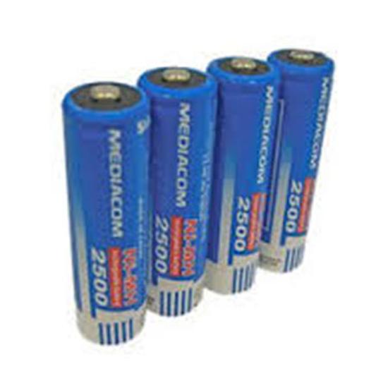 Picture of Mediacom punjive baterije NiMH AA 4kom 2500mAh ME-AA2500