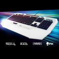 Picture of Tastatura ROCCAT Isku FX White Multicolor Gaming, 180+ macros, US layout ROC-12-921