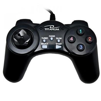 Slika od Game Pad TITANUM SAMURAI, PC, USB, black, TG105