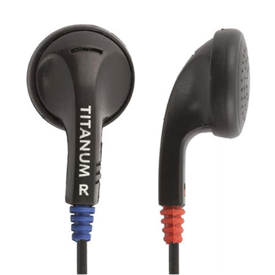 Picture of Slušalice TITANUM In-Ear, black, TH102