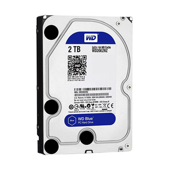 """Picture of HDD 2 TB, WD20EZRZ,  SATA3, 64 MB, 3,5"""", 5.400 rpm"""