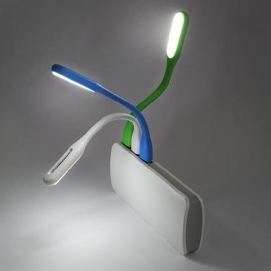 Picture of LED lampa za notebook ESPERANZA, 6-LED, USB, random color, fleksibilna EA147M