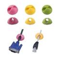 Picture of Organizer kablova za računar, ESPERANZA, 6 kom, random color, EBA101M