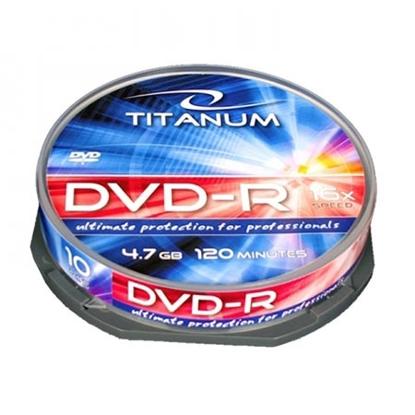 Slika od DVD-R TITANUM 4,7 GB X16, CAKE BOX 10 kom, 1281