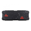 Picture of Tastatura gaming TITANUM RANGER, USB, 9 multimedia buttons, US layout, TK105