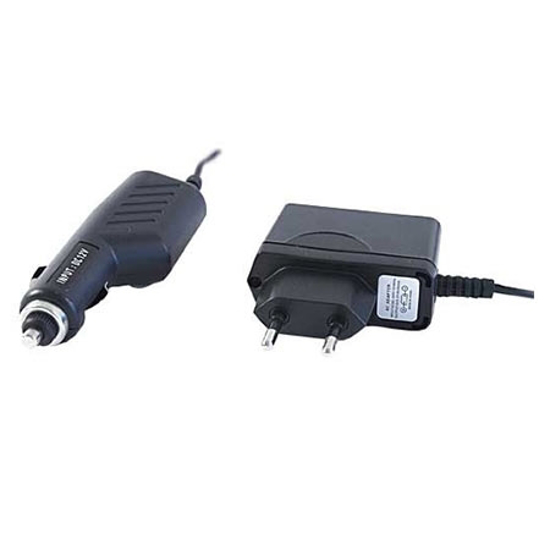 Picture of USB strujni punjač + USB punjač za auto GEMBIRD, MP3A-CAR-KIT1