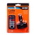 Picture of FM Transmitter ACME F100-01,sa daljinskim MP3,WMA,SD card slot, USB, Napajanje: 12-24V DC