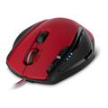 Picture of Miš SPEEDLINK SCELUS Gaming, black-red, 3200dpi, 2x scroll wheel, 8 macro buttons, SL-680004-BKRD