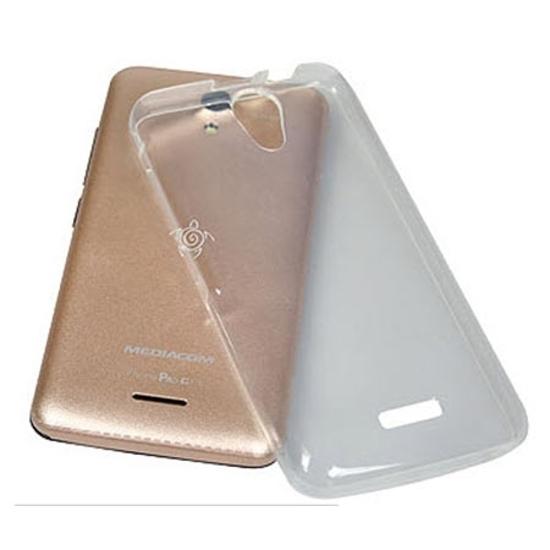 Picture of MEDIACOM M-G410SC silikonska providna zaštitna navlaka za smartphone G410