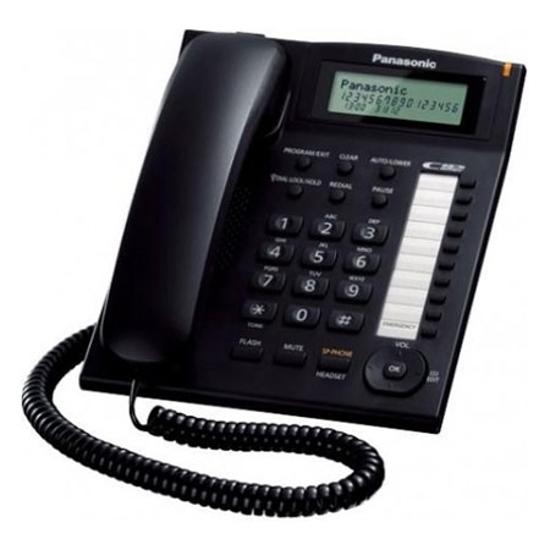 Picture of TELEFON Panasonic KX-TS880FXB TELEFON STOLNI,CRNA BOJA