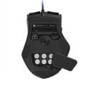 Picture of Miš SHARKOON gaming Drakonia Mouse LAS U, laserski, black, 8200 dpi, 11 buttons, USB