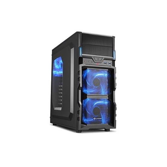 Picture of Kućište SHARKOON gaming, VG5-W blue ATX, ventilator 3x120 mm LED, 2xUSB3, Window