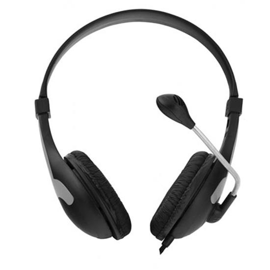 Picture of Slušalica sa mikrofonom ESPERANZA ROOSTER, volume control, black, EH158K