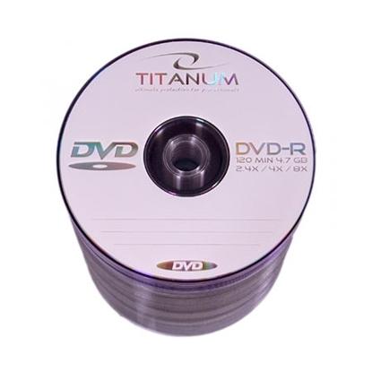 Slika od DVD-R TITANUM 4,7 GB X8, spindle 100 kom, 1068
