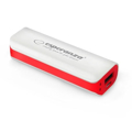 Picture of PowerBank ESPERANZA JOULE, 2200mAh, WHITE/RED, EMP103WR
