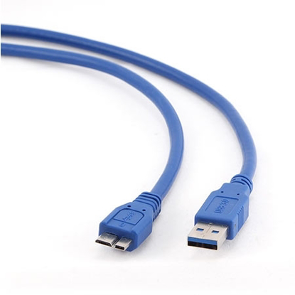 Slika od USB 3.0 kabal A-microB 0,5m, GEMBIRD CCP-mUSB3-AMBM-0.5M