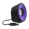 Picture of Zvučnici 2.0 SPEEDLINK ELLIPZ Stereo, black-violet, SL-810000-BKVT