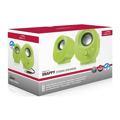 Picture of Zvučnici 2.0 SPEEDLINK SNAPPY Stereo, green, USB, SL-8001-GN